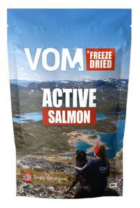 Bilde av VOM FREEZE DRIED ACTIVE SALMON 90G